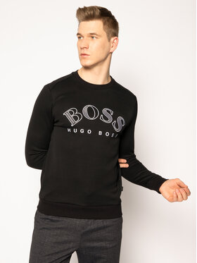Boss Boss Džemperis Salbo 50418718 Juoda Regular Fit