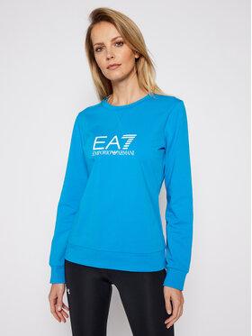 EA7 Emporio Armani EA7 Emporio Armani Majica dugih rukava 8NTM39 TJ31Z 1523 Plava Regular Fit