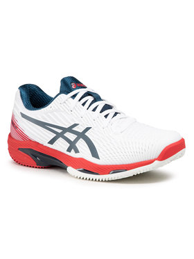 Asics Asics Παπούτσια Solution Speed Ff 2 Clay 1041A187 Λευκό