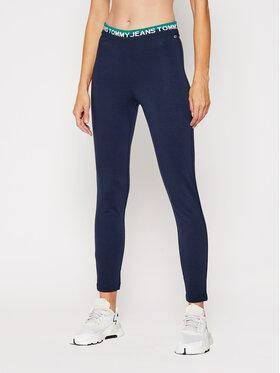 Tommy Jeans Tommy Jeans Colanți Tjw Branded Waistband DW0DW08993 Bleumarin Slim Fit