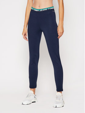 Tommy Jeans Tommy Jeans Leggings Tjw Branded Waistband DW0DW08993 Blu scuro Slim Fit