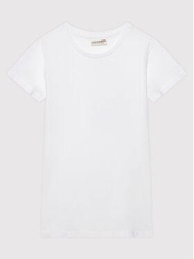 Coccodrillo Coccodrillo T-Shirt ZC1143201GYM Bílá Regular Fit