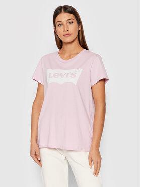 Levi's® Levi's® Tričko The Perfect Tee 17369-1652 Ružová Regular Fit