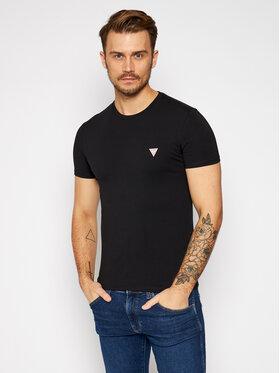 Guess Guess T-Shirt M0BI24 J1311 Czarny Super Slim Fit