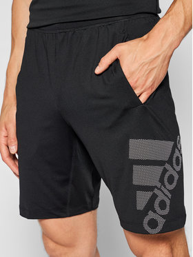 adidas adidas Športové kraťasy 4Krft Graphic DU0934 Čierna Standard Fit
