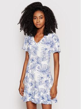 Desigual Desigual Sukienka letnia Nadia 21SWVKBB Biały Regular Fit