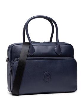 Trussardi Trussardi Τσάντα για laptop Pre Urban Briefcase 71B00252 Σκούρο μπλε