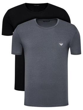 Emporio Armani Underwear Emporio Armani Underwear Komplet 2 t-shirtów 111267 1P720 24244 Kolorowy Regular Fit