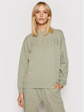 Seafolly Seafolly Sweatshirt Leisure 54569 Vert Regular Fit