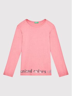 United Colors Of Benetton United Colors Of Benetton Блуза 3EG9C15FY Розов Regular Fit