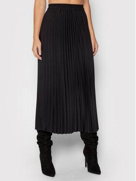 Selected Femme Selected Femme Plisovaná sukně Alexis 16073773 Černá Regular Fit