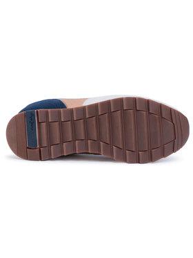 Pepe Jeans Sneakersy Slab Basic PMS30611 Biela