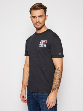 Tommy Jeans Tommy Jeans T-Shirt Front And Back Graphic DM0DM09485 Σκούρο μπλε Regular Fit
