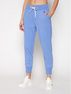 Polo Ralph Lauren Polo Ralph Lauren Pantaloni trening Akl 211780215010 Albastru Regular Fit