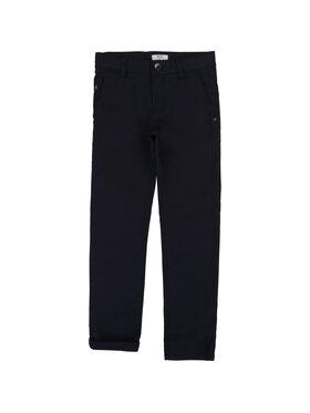 Boss Boss Bavlnené nohavice J24606 Tmavomodrá Slim Fit