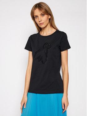Patrizia Pepe Patrizia Pepe T-Shirt 8M1191/A4V5-K103 Černá Regular Fit