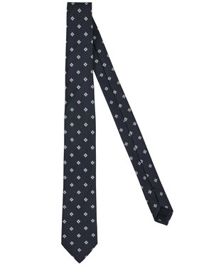 Tommy Hilfiger Tailored Tommy Hilfiger Tailored Nyakkendő Blend Desing TT0TT06907 Sötétkék