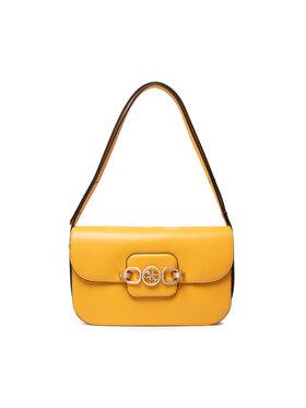 Guess Guess Дамска чанта Hensely HWVS81 13210 Жълт