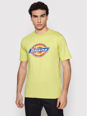 Dickies Dickies T-Shirt Icon Logo DK0A4XC9B541 Zielony Regular Fit