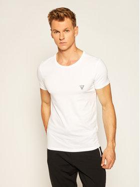 Guess Guess T-Shirt U97M00 JR003 Bílá Slim Fit