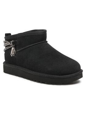 Ugg Ugg Παπούτσια W Classic Ultra Mini Chains 1117933 Μαύρο