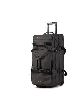 National Geographic National Geographic Nagy szövetborítású bőrönd Double Decker N09301.06 Fekete