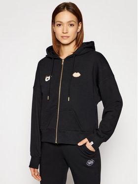 PLNY LALA PLNY LALA Sweatshirt Look And Kiss Miss PL-BL-MZ-00005 Schwarz Regular Fit