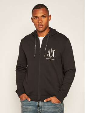 Armani Exchange Armani Exchange Sweatshirt 8NZMPP ZJ1ZZ 1200 Schwarz Regular Fit