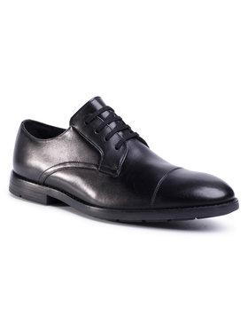 Clarks Clarks Pantofi Ronnie Cap 261480257 Negru