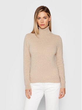 United Colors Of Benetton United Colors Of Benetton Golf 1002D2348 Brązowy Regular Fit