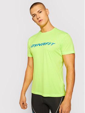 Dynafit Dynafit Тениска от техническо трико Traverse 2 M 08-70670 Зелен Regular Fit