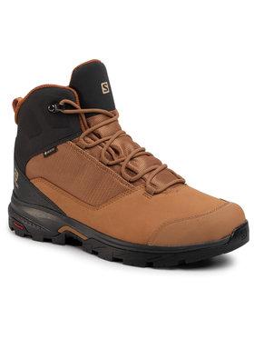 Salomon Salomon Trekingová obuv Outward GTX GORE-TEX 410423 31 V0 Hnedá