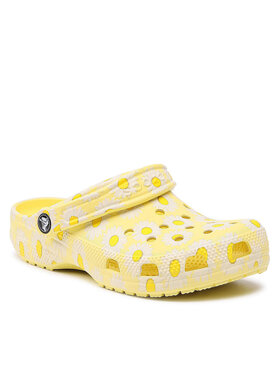 Crocs Crocs Παντόφλες Classic Vacay Vibes Clog 206375 Κίτρινο