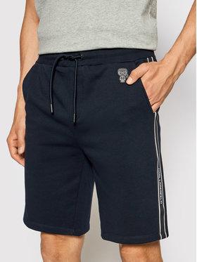 KARL LAGERFELD KARL LAGERFELD Pantaloni scurți sport 705023 511900 Bleumarin Regular Fit