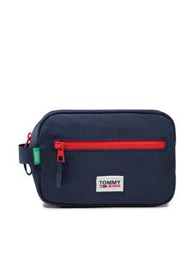 Tommy Jeans Tommy Jeans Pochette per cosmetici Tjm Urban Essentials Washbag AM0AM07012 Blu scuro