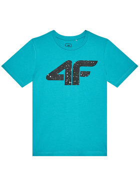 4F 4F Тишърт HJL21-JTSM010 Син Regular Fit