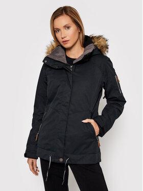 Roxy Roxy Kurtka narciarska Meade ERJTJ03275 Czarny Tailored Fit