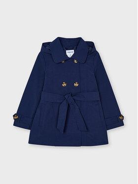 Mayoral Mayoral Demisezoninis paltas 3487 Tamsiai mėlyna Regular Fit