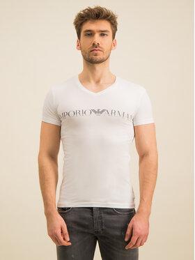 Emporio Armani Underwear Emporio Armani Underwear Marškinėliai 110810 9A516 00010 Balta Slim Fit