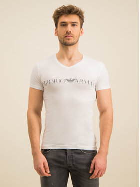 Emporio Armani Underwear Emporio Armani Underwear Tricou 110810 9A516 00010 Alb Slim Fit