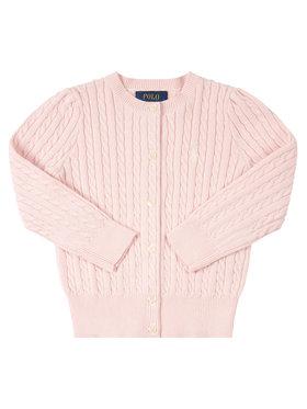 Polo Ralph Lauren Kardigán 311543047 Ružová Regular Fit