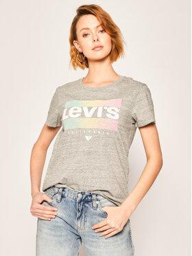 Levi's® Levi's® T-Shirt Donna 17369-0915 Šedá Regular Fit