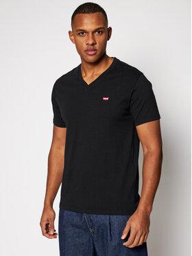 Levi's® Levi's® T-Shirt Original Housemark Tee 85641-0001 Czarny Standard Fit