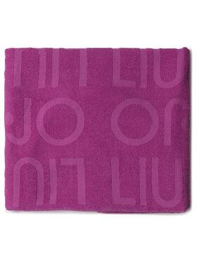 Liu Jo Liu Jo Ręcznik Telo Spugna Jacquar VA0217 T0300 Fioletowy