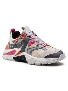 Geox Geox Sneakersy T01 A T94BTA 01443 C0840 Béžová