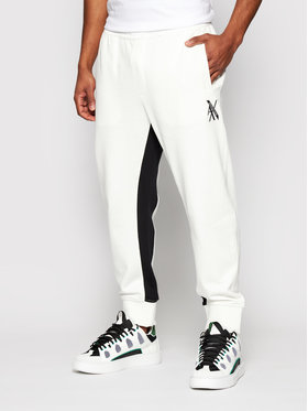 Armani Exchange Armani Exchange Jogginghose 3KZPLD ZJ1ZZ 6111 Weiß Regular Fit