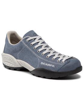 Scarpa Scarpa Trekingová obuv Mojito Canvas 32629-350 Modrá