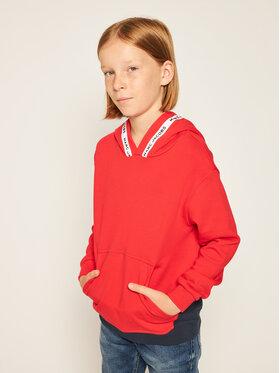 Little Marc Jacobs Little Marc Jacobs Majica dugih rukava W25409 Crvena Regular Fit