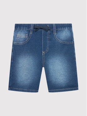 United Colors Of Benetton United Colors Of Benetton Jeansshorts 4BAY59DX0 Dunkelblau Slim Fit