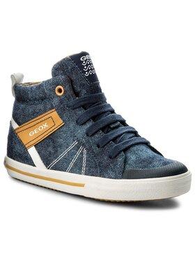Geox Geox Auliniai batai J Kilwi B. H J82A7H 01354 C0072 Ś Tamsiai mėlyna